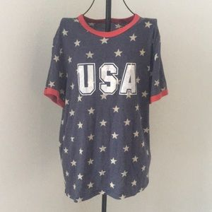 USA star tshirt top from vici dolls